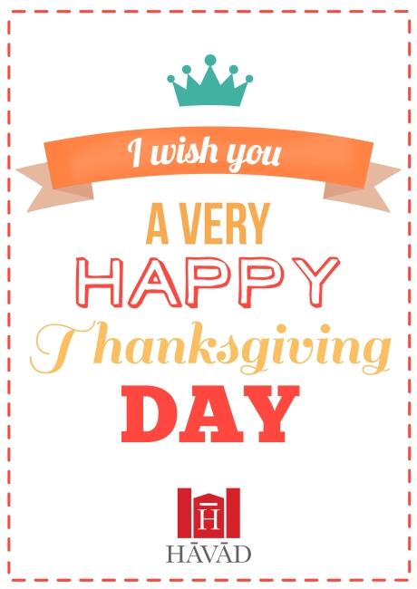 cartaz thanksgiving